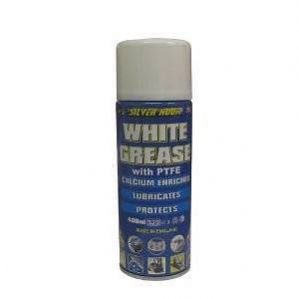 SILVER HOOK SPRAY WHITE GREASE WITH PTFE WATERPROOF LUBRICANT SGSG02 G051